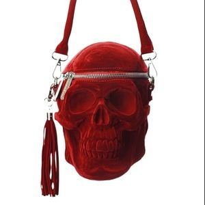 Killstar Grave Digger skull purse.